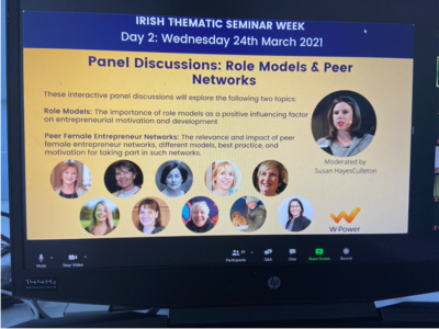 W-Power Panel Discussion: Female Role Models and Peer Networks